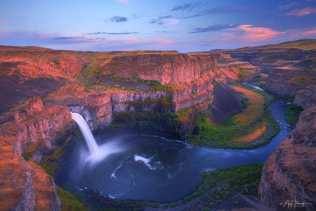 Desert falls