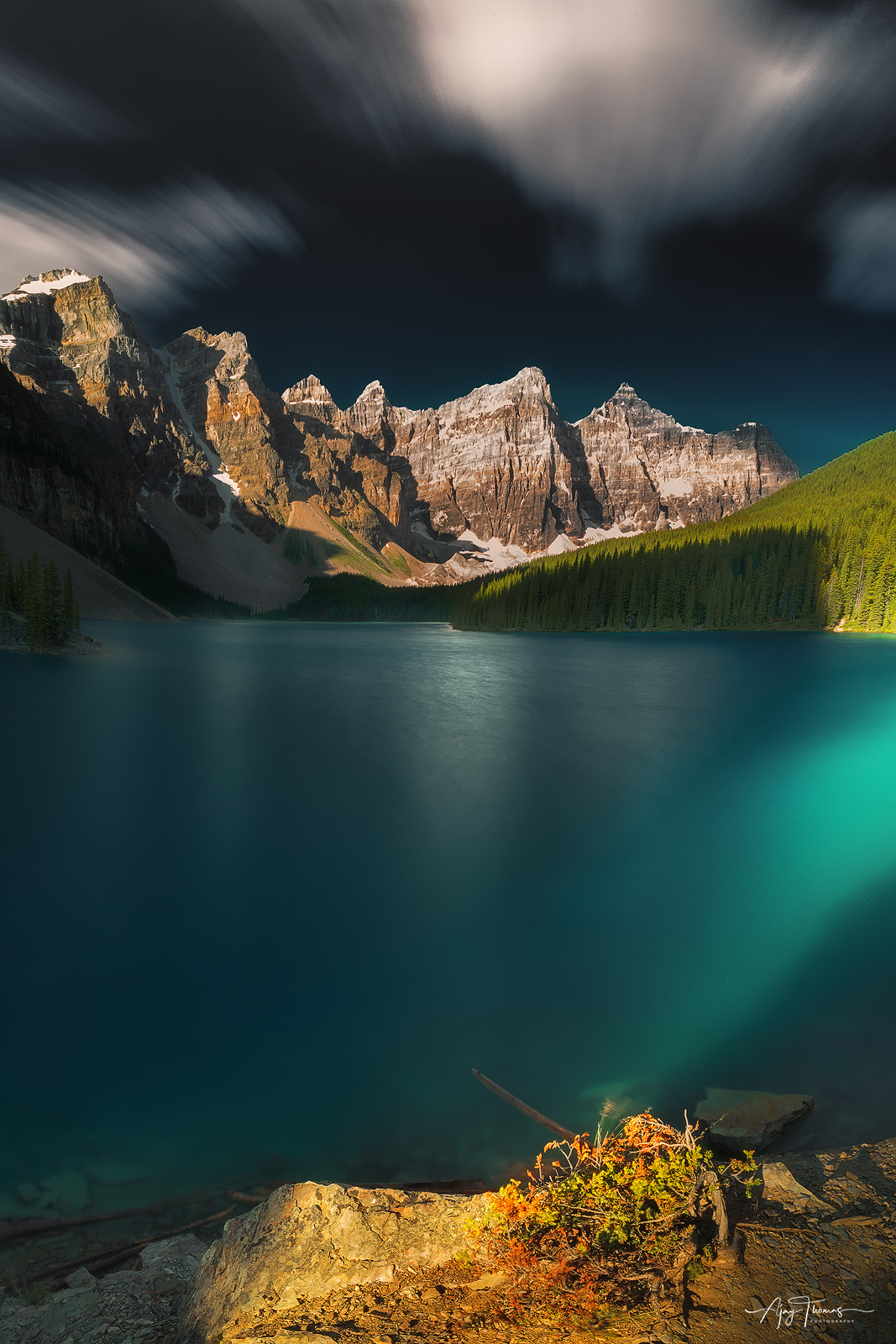 God forgive me for I trespass into your area. The ethereal beauty of the Moraine Lake could turn anyone into a poet…Moraine...