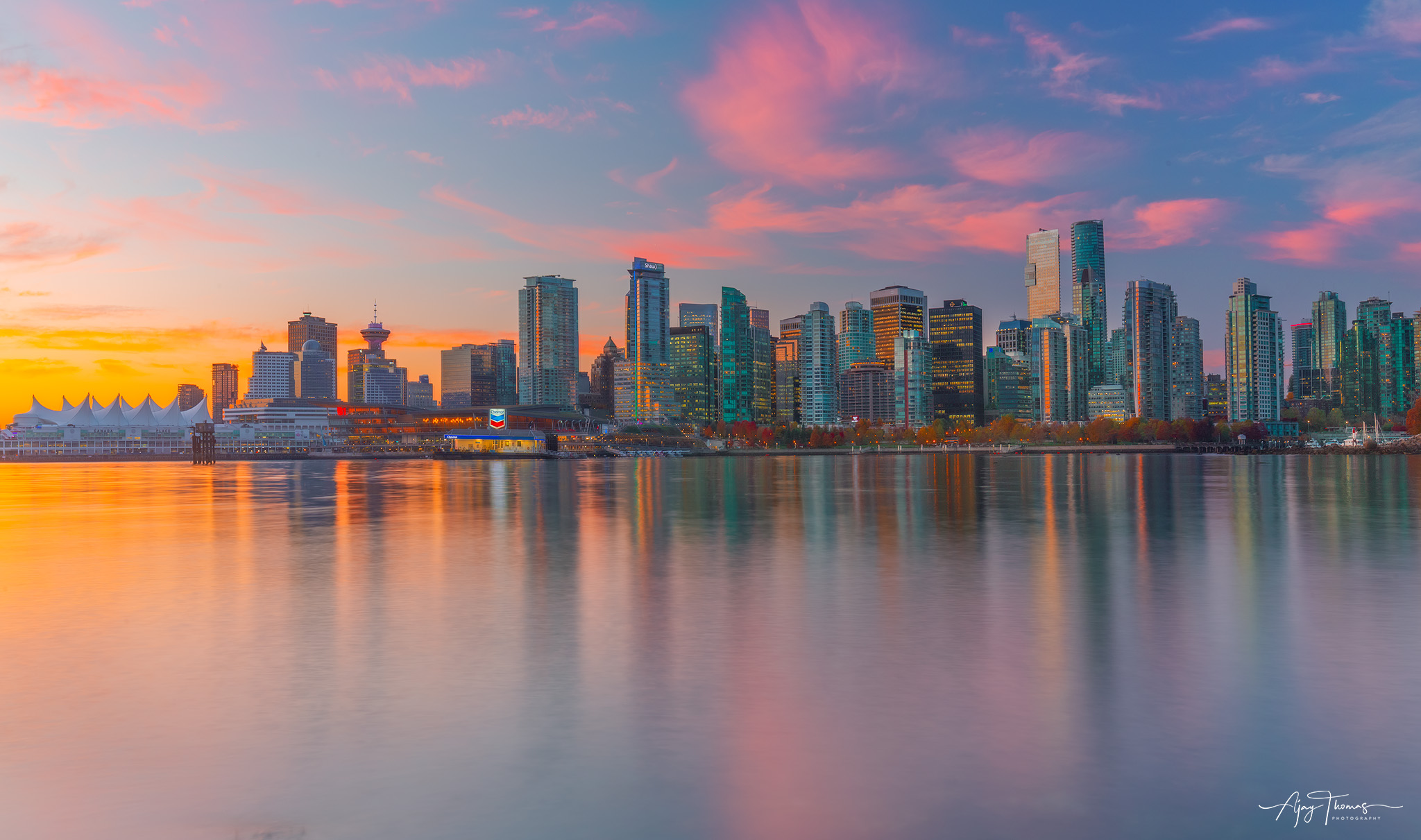 Vancouver city Skyline,BC,Canada Fine art Limited edition print of 100